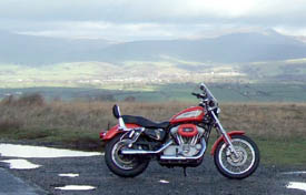 Up By The Big Stone overlooking High Bentham, the Three Peaks and the Lake District Hills - click for _huge_  panarama by coshipi at Deviantart